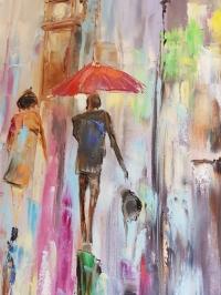 Картина «Нежные краски осени»