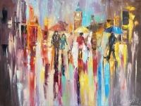 Картина «Яркие краски дождя»