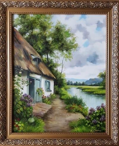 Картина «Сельский пейзаж» 2