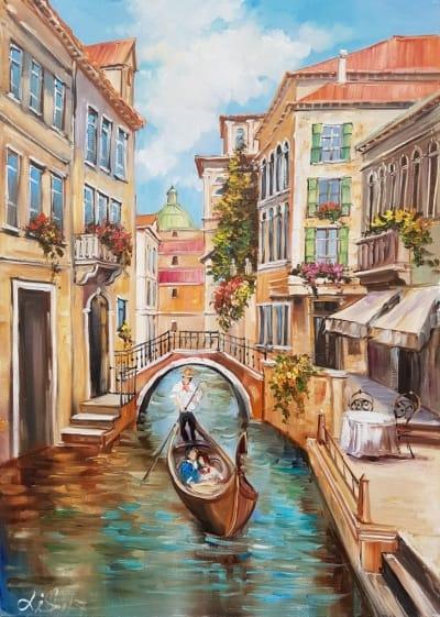 Картина «Солнечная Венеция»