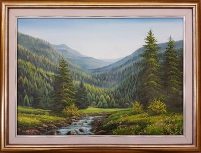 Картина «Тишина гор» 2