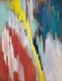 Картина «Быть с тобой на одной вершине» в интерьере