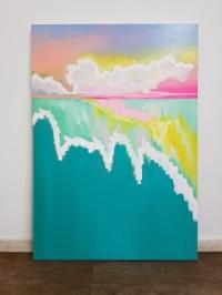 Картина «На глубине воды» в интерьере