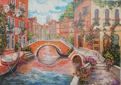 Картина «Чарующая Венеция»