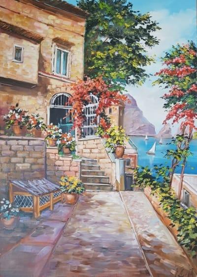 Картина «Незабываемое Средиземноморье»