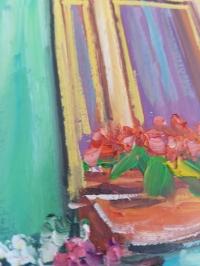 Картина «Яркие воспоминания» - купить картину маслом в Киеве - картины для современных интерьеров Украина
