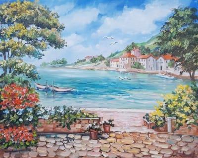 Картина «Солнечное Средиземноморье»