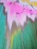 Картина маслом абстракция времена года «Я чувствую тебя, весна» в современном интерьере