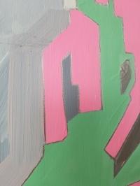 Картина абстракция маслом Киев «Love code». Картины для современных интерьеров