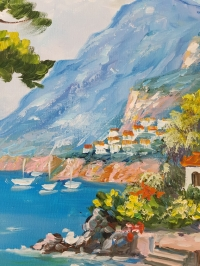 Картина «Средиземноморский пейзаж» 2