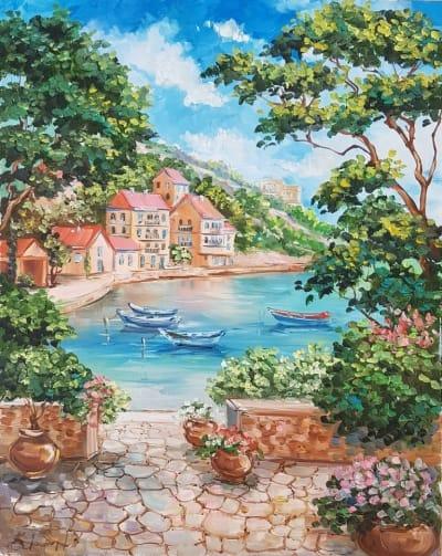 Картина «Теплое Средиземноморье»