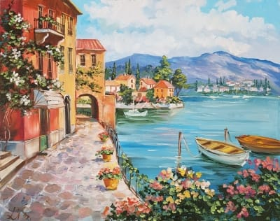 Картина «Средиземноморское умиротворение»