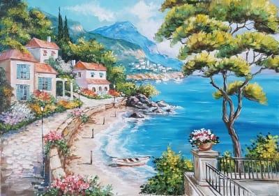 Картина «Солнечное Средиземноморье» 2