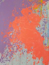 Картина абстракция маслом «Смесь моих желаний» -  живопись для современных интерьеров