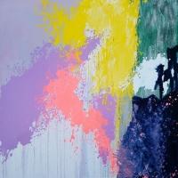 Картина абстракция маслом «Смесь моих желаний» -  живопись для современных интерьеров 3