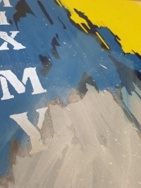 Картина маслом абстракция «Смесь моих желаний» - живопись для современных интерьеров