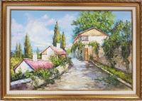 Картина маслом «Летний пейзаж» - современная живопись