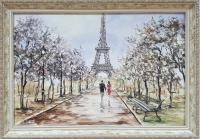 Картина «Париж для нас двоих» - современная живопись Украина