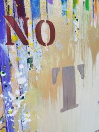 Абстрактная картина для современного интерьера «TIME Series: No limits» купить живопись Киев