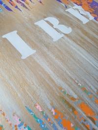 Абстрактная картина «MIX my DESIRES» купить живопись в современный интерьер