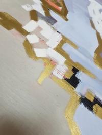 Абстрактная картина «Чистое напоминание» купить современную живопись Киев