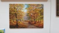 Картина осенний пейзаж «Осенний парк» купить живопись Киев