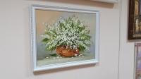 Картина маслом цветы «Ландыши» купить картину Киев