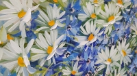 Картина «Полевые цветы» купить живопись Украина
