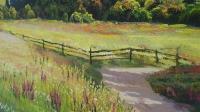Картина маслом горный пейзаж «Родные просторы» купить живопись Киев