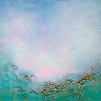 Абстрактное море картина маслом «Из глубины» купить живопись Украина