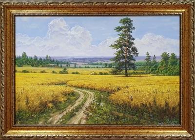 Картина маслом пшеничное поле «Пшеничное поле» купить картину Киев