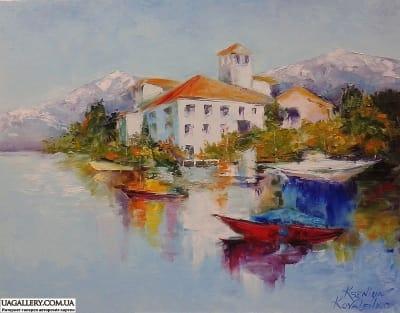 Картина «Горный пейзаж»