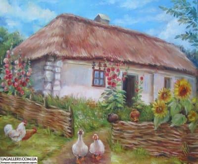 Картина «Украинский пейзаж»