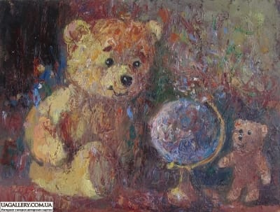 Картина «Мишка-Путешественник»