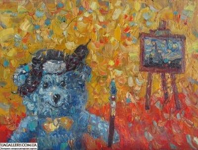 Картина «Мишка Ван Гог»
