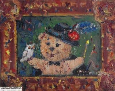 Картина «Мишка-Фокусник»