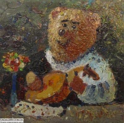 Картина «Мишка Караваджо»