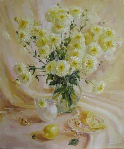 Картина «Лимонное утро»