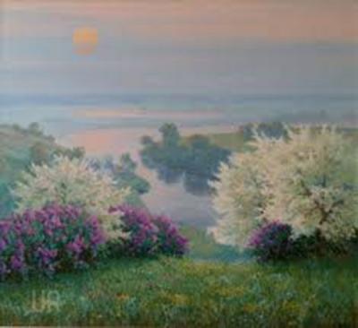 Картина «Весна. Река»