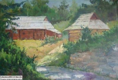 Картина «Украинский пейзаж. Карпаты»