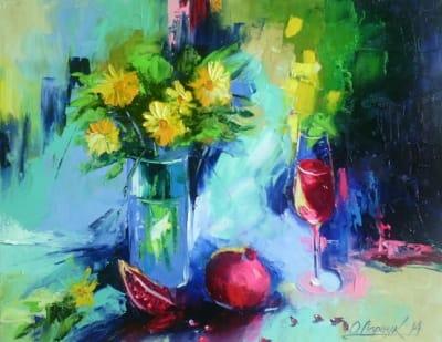 Картина «Гранатовое вино»