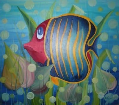 Картина «Рыба»