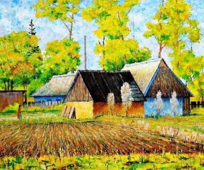 Картина «Сельская весна»