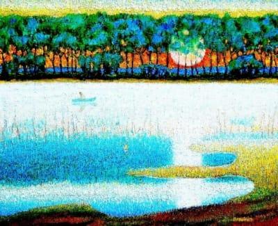 Картина «На зорьке»