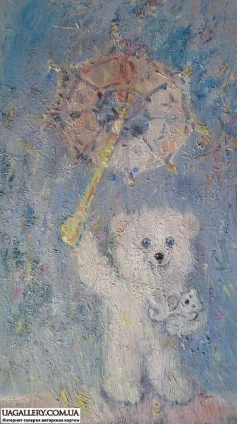 Картина «Мишки. Мамочка»