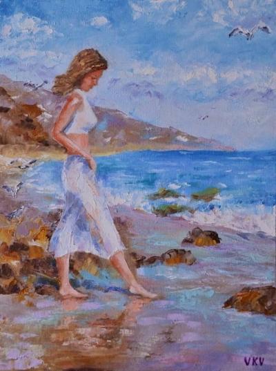 Картина «Морской прибой»