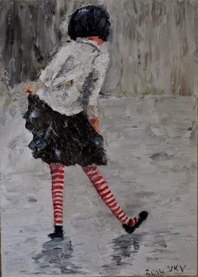 Картина «Девчушка»