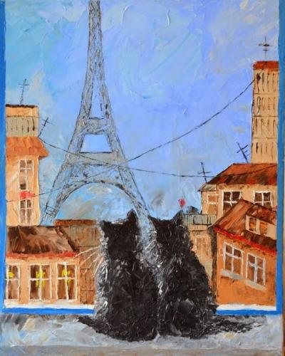 Картина «Два кота»