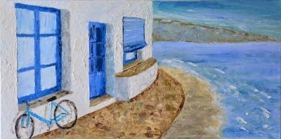 Картина «Велосипед на Мальорке»