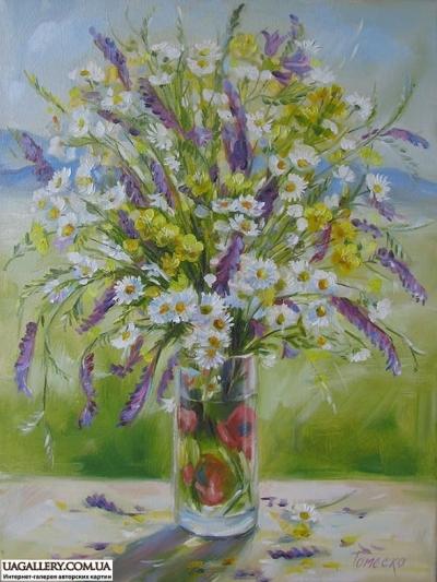 Картина «Цветочное Закарпатье»